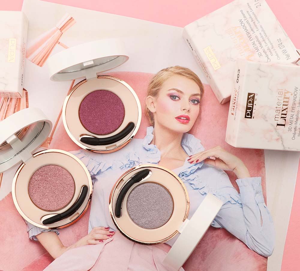 PUPA Material Luxury: Spring 2018 makeup collection