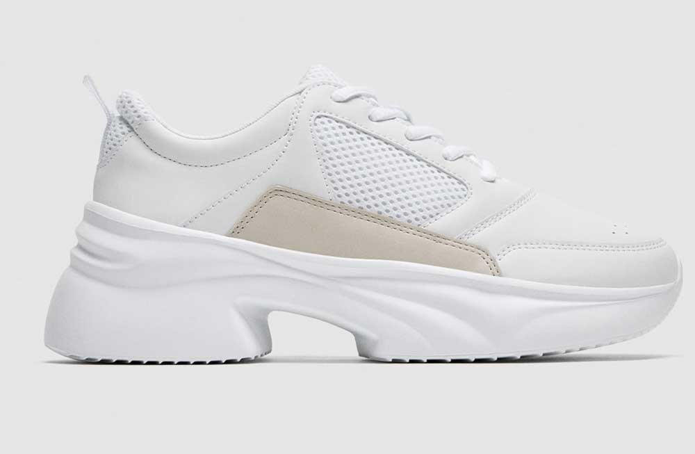 Zara sneakers summer 2018