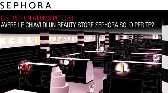 Sephora Competition: prize-winning trip to Paris and product kits