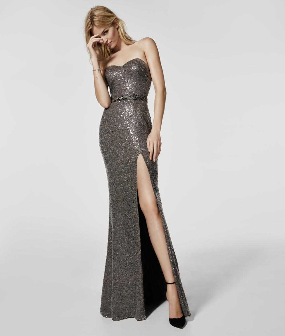Celebratory dresses with sequins