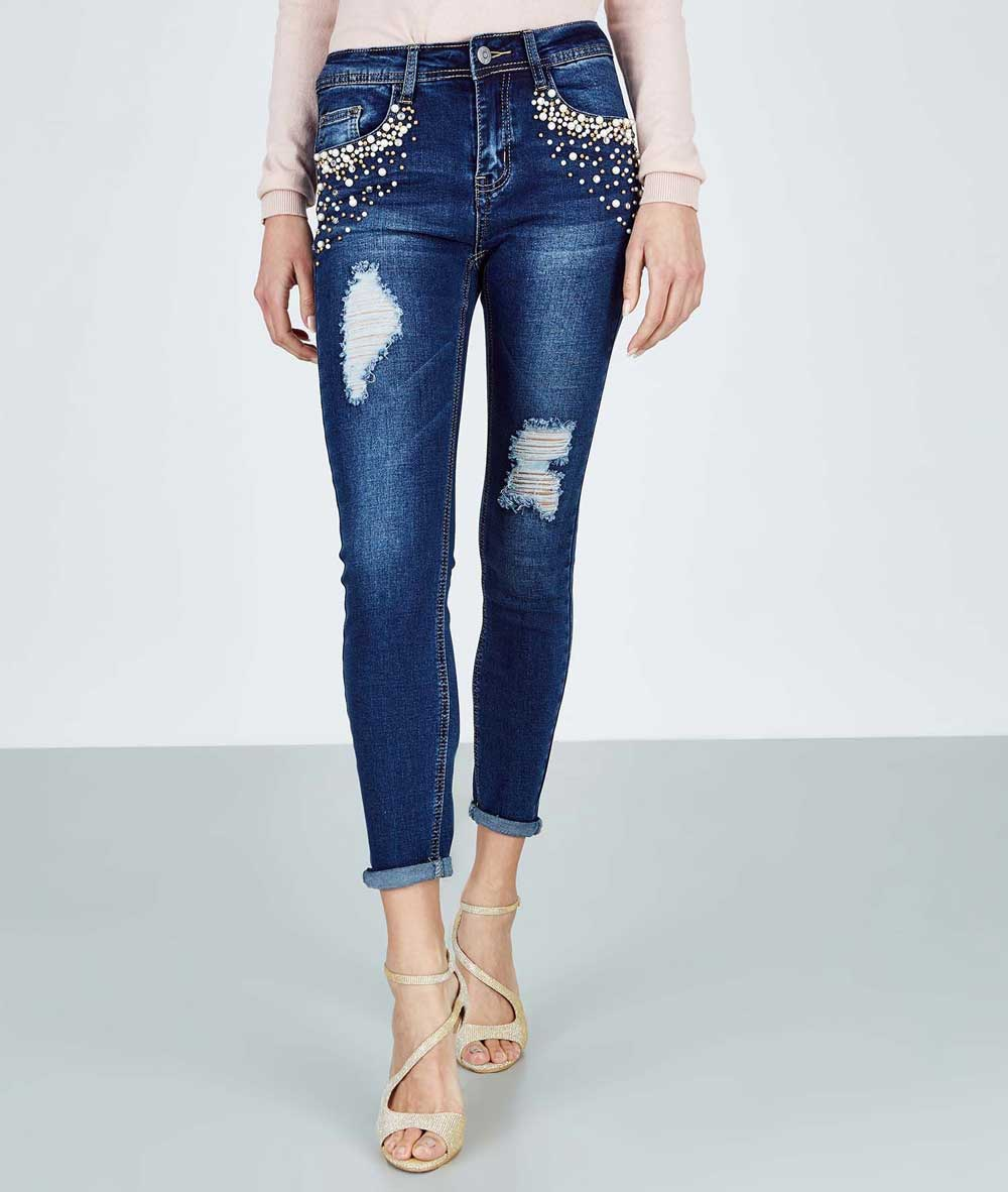 jeans with Piazza Italia applications