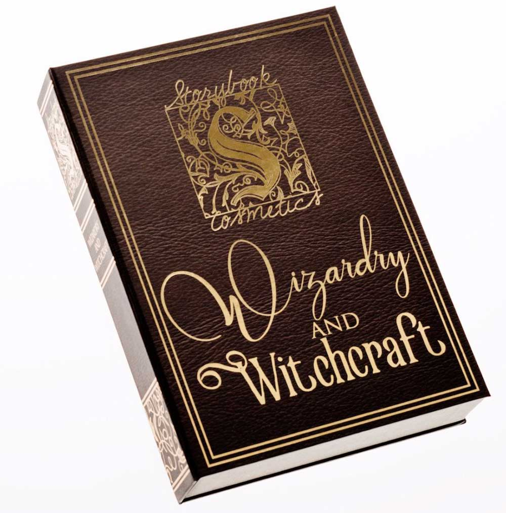 Wizardry and Witchcraft Eyeshadow Palette Storybook Cosmetics