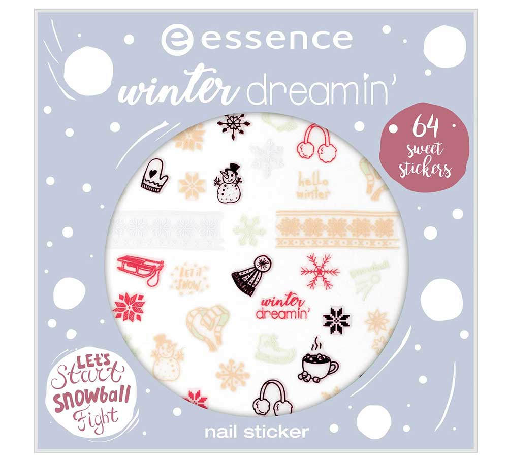 essence stickers nails