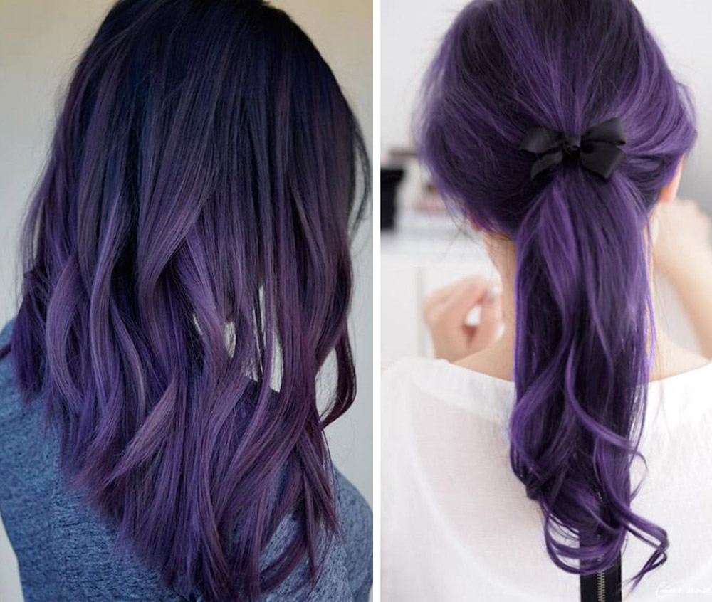 Hairstyle Ultra Violet